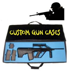 Made this little logo picture for our Weapons cases.