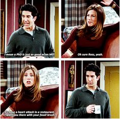 """Any chance she got. 24 Times The Other """"Friends"""" Were Savage As Hell To Ross Friends Funny Moments, Friends Tv Quotes, Friends Scenes, Friends Tv Show, Chandler Friends, Friends Cast, Friends Episodes, Friends Season, Quotes Thoughts"""