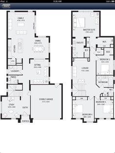 Metricon Laguna 32 floor plan