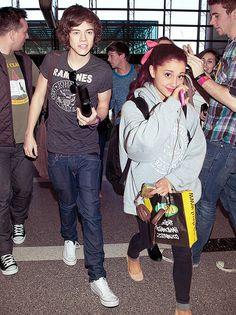 Harry Styles and Ariana Grande