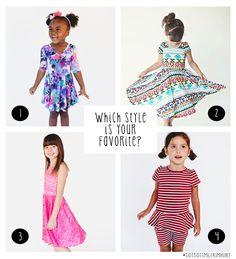 c88189119c214 Dot Dot Smile Clothing: Ballerina Dress, Lucy Sleeve Dress, Lucky Tank  Dress,