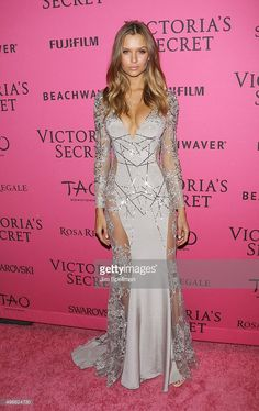 Model Josephine Skriver attends the 2015 Victoria's Secret Fashion Show after party at TAO Downtown on November 10, 2015 in New York City.