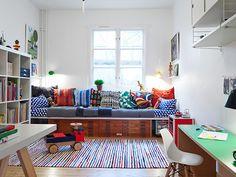 hochbett stauraum loft beds hochbetten pinterest ateliers. Black Bedroom Furniture Sets. Home Design Ideas