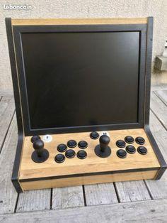 Borne d'arcade - Bartop 2 Joueurs - Retrogaming Consoles & Jeux vidéo Gironde - leboncoin.fr