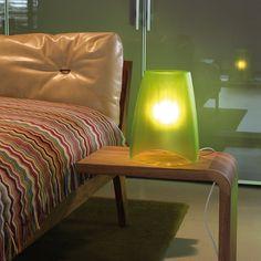 Design3000: shop of ideas! Koziol Mood table lamp olive