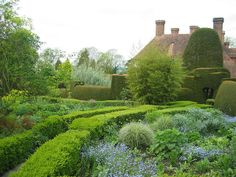 102_0291           Great Dixter, West Sussex, UK. Wonderful garden owned by the late Christopher Lloyd.    by Christine G. H. Franck, via Flickr