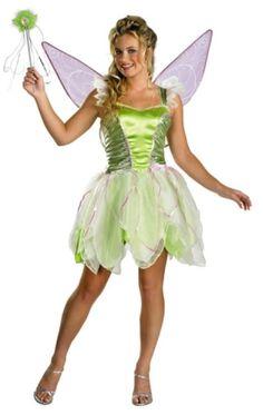 Me likey! Tinkerbell Halloween Costume Ideas