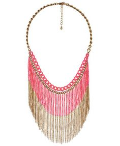 Fringe Necklaces, Why Not? - World of the Woman