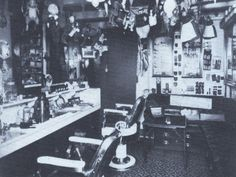 Titanic First Class Barber Shop | Titanicrevisited - Rooms on the Titanic
