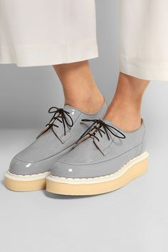 Purified|+ George Cox patent-leather creepers|NET-A-PORTER.COM