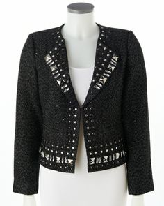 Embellished with #studs to make you sparkle #SteinMart