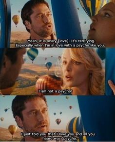 The Ugly Truth movie quote with Katherine Heigl and Gerard Butler Movies Quotes, Tv Show Quotes, Funny Movies, Film Quotes, Great Movies, Funny Quotes, Funny Movie Scenes, Cartoon Quotes, Katherine Heigl