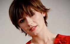 Emily Mortimer- growing out pixie...slowly!