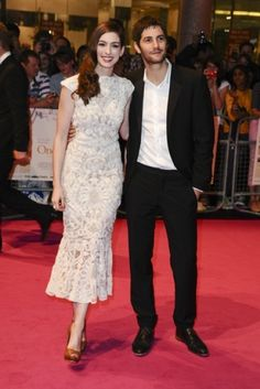 Anne Hathaway on the Red Carpet in London