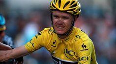 Chris Froome on valmis puolustamaan Ranskan ympäriajon voittoa. Kuva on viime vuoden Tour de Francesta.