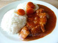 Pomalý hrnec: Vepřové na kari s mrkví v pomalém hrnci Food 52, Crockpot, Slow Cooker, Curry, Beef, Chicken, Ethnic Recipes, Starbucks, Meat