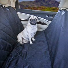 Devoted Doggy Premium Dog Seat Cover with Hammock Feature - Waterproof Material - Dog Seat Belt Included - Unique Nonslip Backing with Seat Anchors * Read more  at the image link. (This is an affiliate link and I receive a commission for the sales)