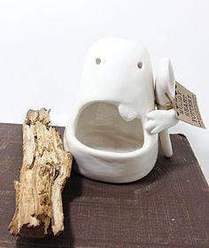 Ceramic Monster Salt Cellar with Spoon Sculpture Foodie Fun Unique Kitchen Ware MADE TO ORDER