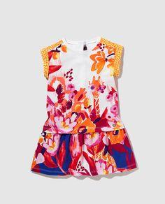Vestido Catimini con estampado multicolor