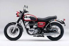 Kawasaki w800 chrome edition.