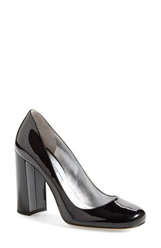 231f9fc65548 Prada Block Heel Pump (Women) available at  Nordstrom Chunky Boots