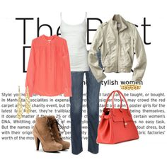 Love the colors. Casual but still cute