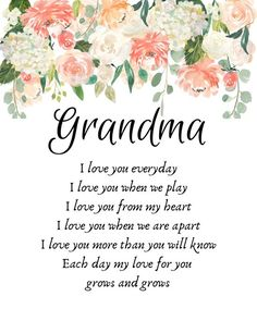 Mothers Day Gift Mothers Day Poem Mother's Day Gift for Grandparents Day Poem, Mothers Day Poems, Mother Poems, Happy Mother Day Quotes, Mothers Day Cards, Happy Mothers Day, Happy Birthday Grandma Quotes, Granny Quotes, Christian Birthday Wishes
