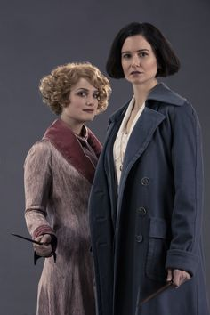 "Queenie and Porpentina Goldstein, ""Fantastic Beasts and where to Find Them"""