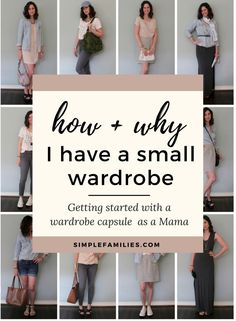 Get starting with a minimalist wardrobe | capsule wardrobe | wardrobe capsule | minimalism | minimalism for moms