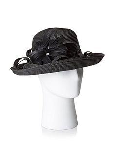Giovannio Women's Profile Hat, Black