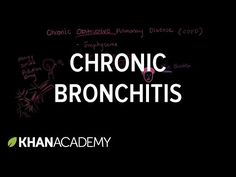 (1) What is chronic bronchitis? | Chronic Bronchitis (COPD) | Respiratory system diseases | Health and medicine | Khan Academy
