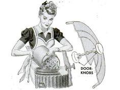 Doorknobs Access Garbage Cans