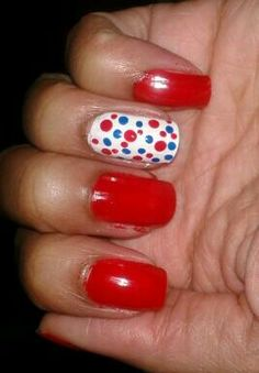 #blanco #rojo #azul #tricolor #puntos #dots #red #white #blue