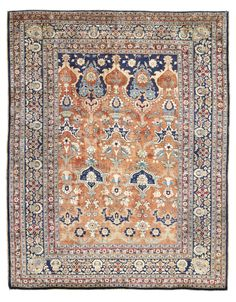 A SILK TABRIZ PRAYER RUG | NORTH WEST PERSIA, CIRCA 1890 5ft.1in. x 4ft.1in. (156cm. x 124cm.) | Christie's