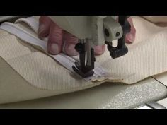 http://www.sailrite.com/How-to-Make-a-Throw-Pillow-Video How to construct a throw pillow with zipper closure. A throw pillow with a zipper makes it easy to wash the cover by removing the pillow form stuffing. By using Sunbrella Furniture Fabric you will get the best ultraviolet, water, stain and wear resistant fabric on the market today. Sunbrel...