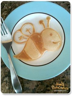 Cute ideas!  Check out this guy's site.  He does pancake art ~ LOL!