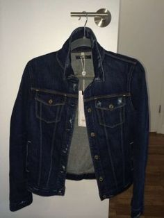 7 For All Mankind Dark Blue Everyone should have a great denim jacket!