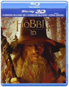 El Hobbit: Un Viaje Inesperado 2 discos Blu-ray 3D + 2 discos Blu-ray