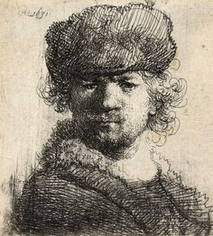 Rembrandt, Self Portrait with Cap