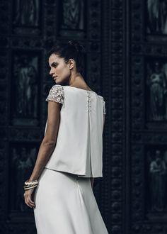 Laure de Sagazan dévoile sa nouvelle collection de robes de mariée 2016 19