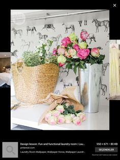 Vintage Arthur Wood Red Rose Pink Gilt Edge Planter Vase Can Be Repeatedly Remolded. Arthur Wood Pottery, Porcelain & Glass