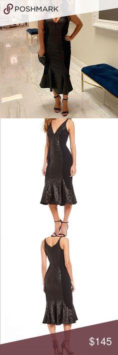 4289c583 Dress the Population-Kyle Sequin Midi Dress- Large Size Large From Dress  the Population