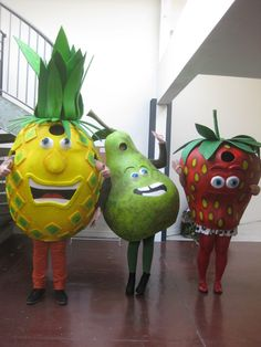 Fruit Costumes, Volumes, Dinosaur Stuffed Animal, Christmas Ornaments, Toys, Holiday Decor, Animals, Projects, Activity Toys