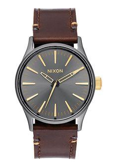 Sentry 38 Leather | Montres | Montres et accessoires premium Nixon