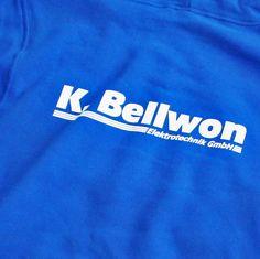 Die Shirtdruckerei.de | Textildruck und Service | Kundereferenz Elektotechnik Bellwon #textildruck #siebdruck #shirts #tshirt #band #merchandise