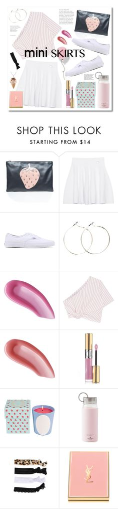 """""""Mini Me: Cute Skirts"""" by miee0105 ❤ liked on Polyvore featuring RED Valentino, Kenzo, Vans, Yves Saint Laurent, Rosie Assoulin, Ladurée, Kate Spade, Glam Bands and Tiffany & Co."""