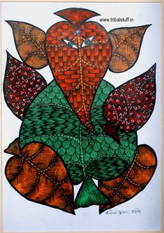 Gond Tribal Art Form (India)