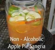Non-Alcoholic Apple Pie Sangria