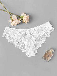 Shop Cut-out Lace Panty online. SHEIN offers Cut-out Lace Panty & more to fit your fashionable needs. Sheer Lingerie, Lingerie Set, Women Lingerie, Sheer Bra, Lingerie Collection, Floral Lace, Fashion News, Woman Fashion, Free Gifts