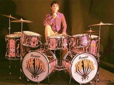 Keith Moon (of The Who).   R.I.P.